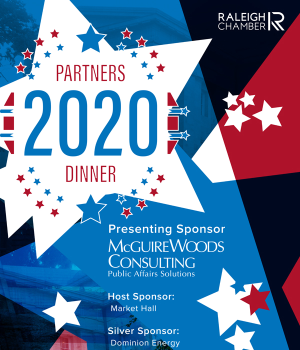 Raleigh Chamber 2020 Partners Dinner: Event Theme Graphic