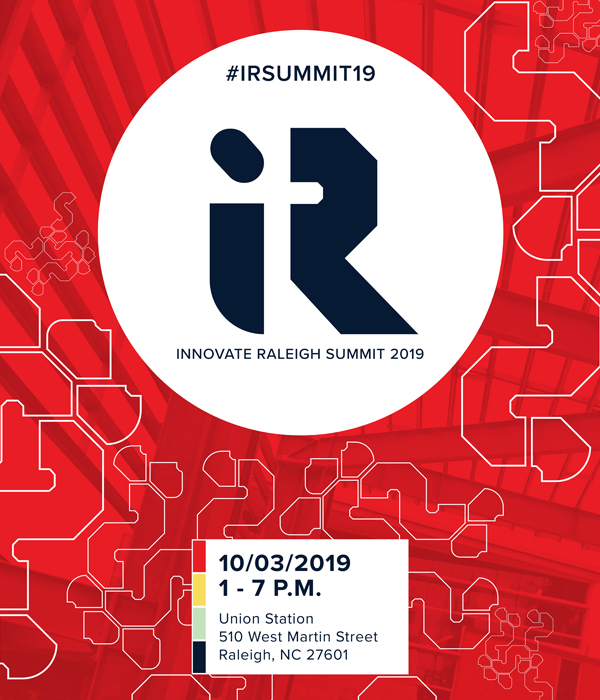Innovate Raleigh Summit 2019: Event Theme Graphic